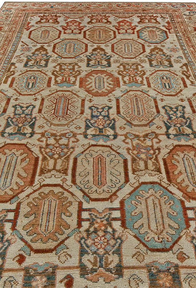 Antique Persian Malayer Rug BB5613