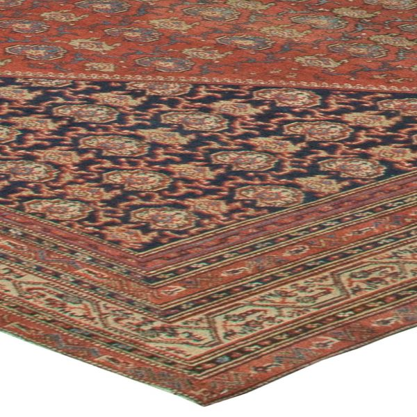 Antique Persian Malayer Rug BB5555