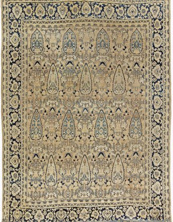 Antique Persian Meshad Rug BB6264