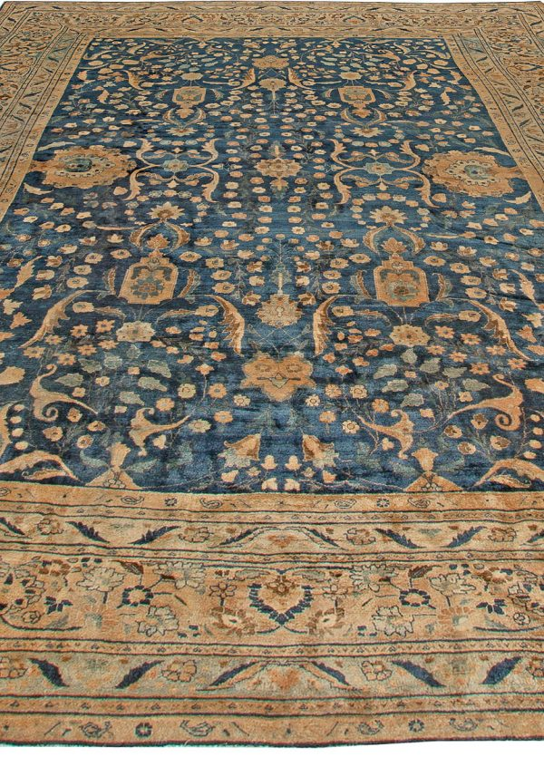 Antique Persian Meshad Rug BB5546