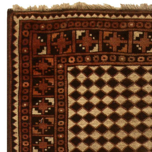 Antique Persian Beshir Rug BB5431