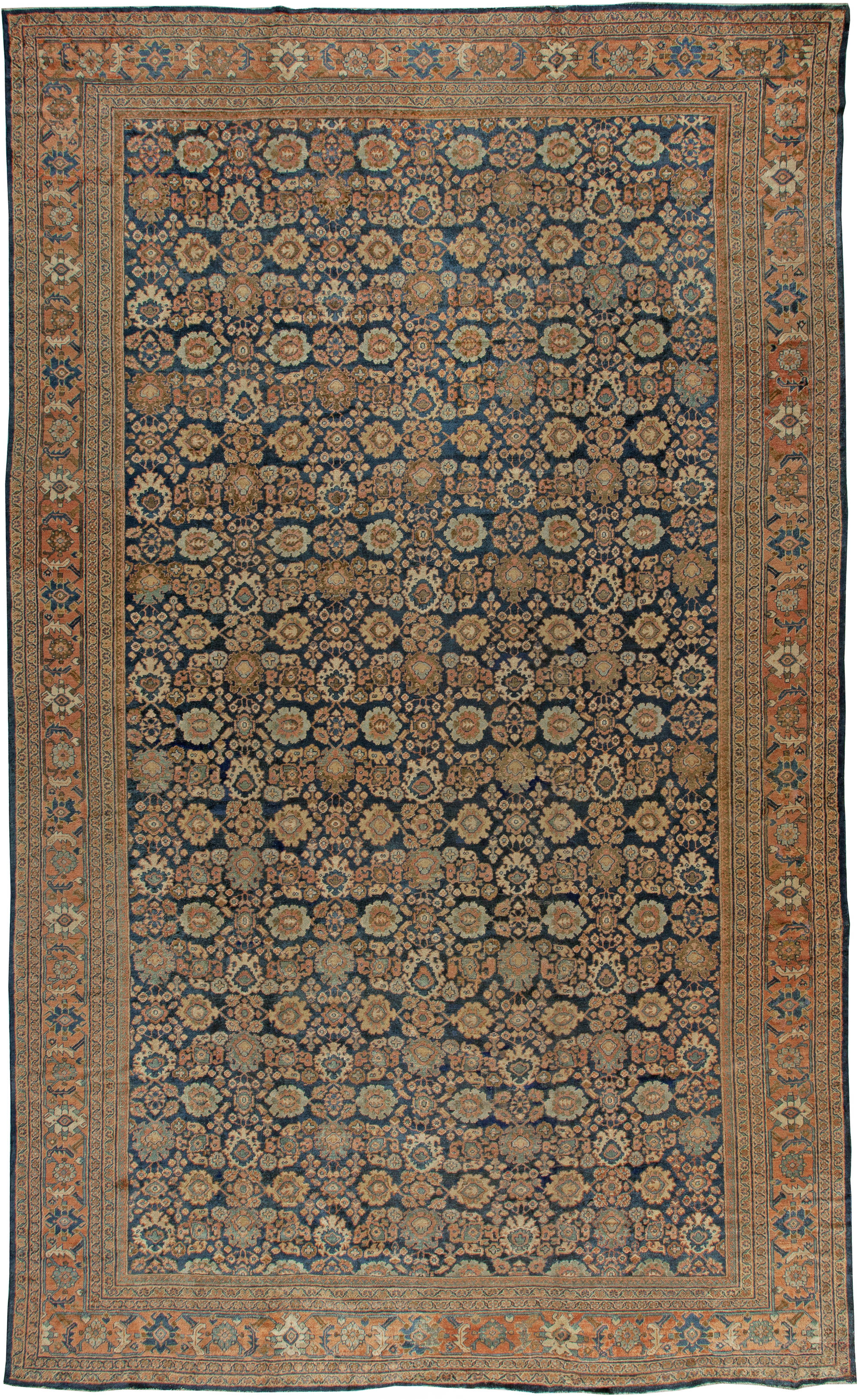 Vintage Persian Sultanabad Rug BB5579