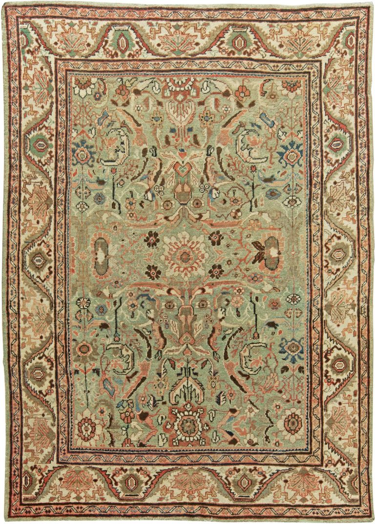 Antique Persian Sultanabad Rug Bb6055 By Doris Leslie Blau