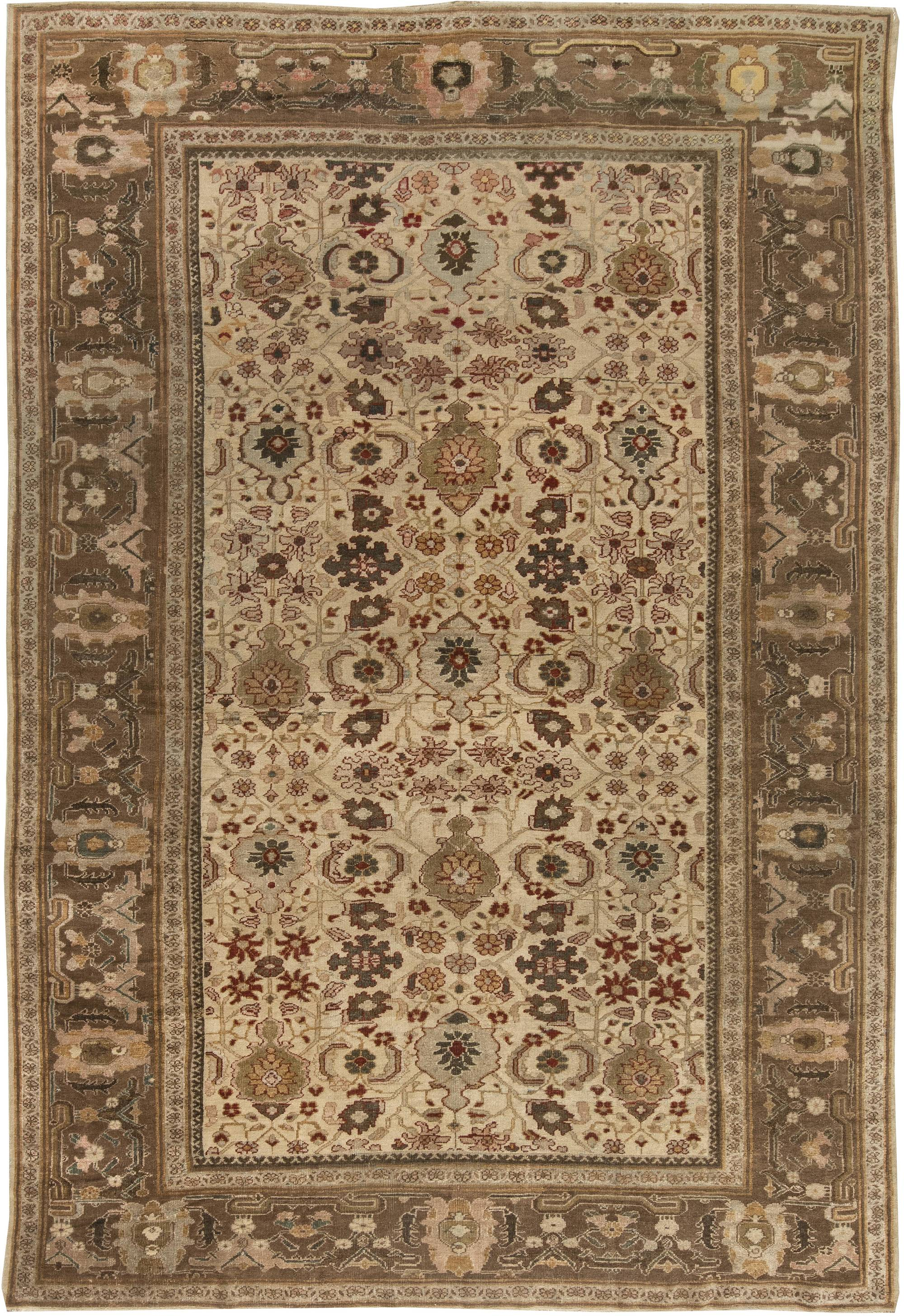 Antique Persian Sultanabad Rug BB6453