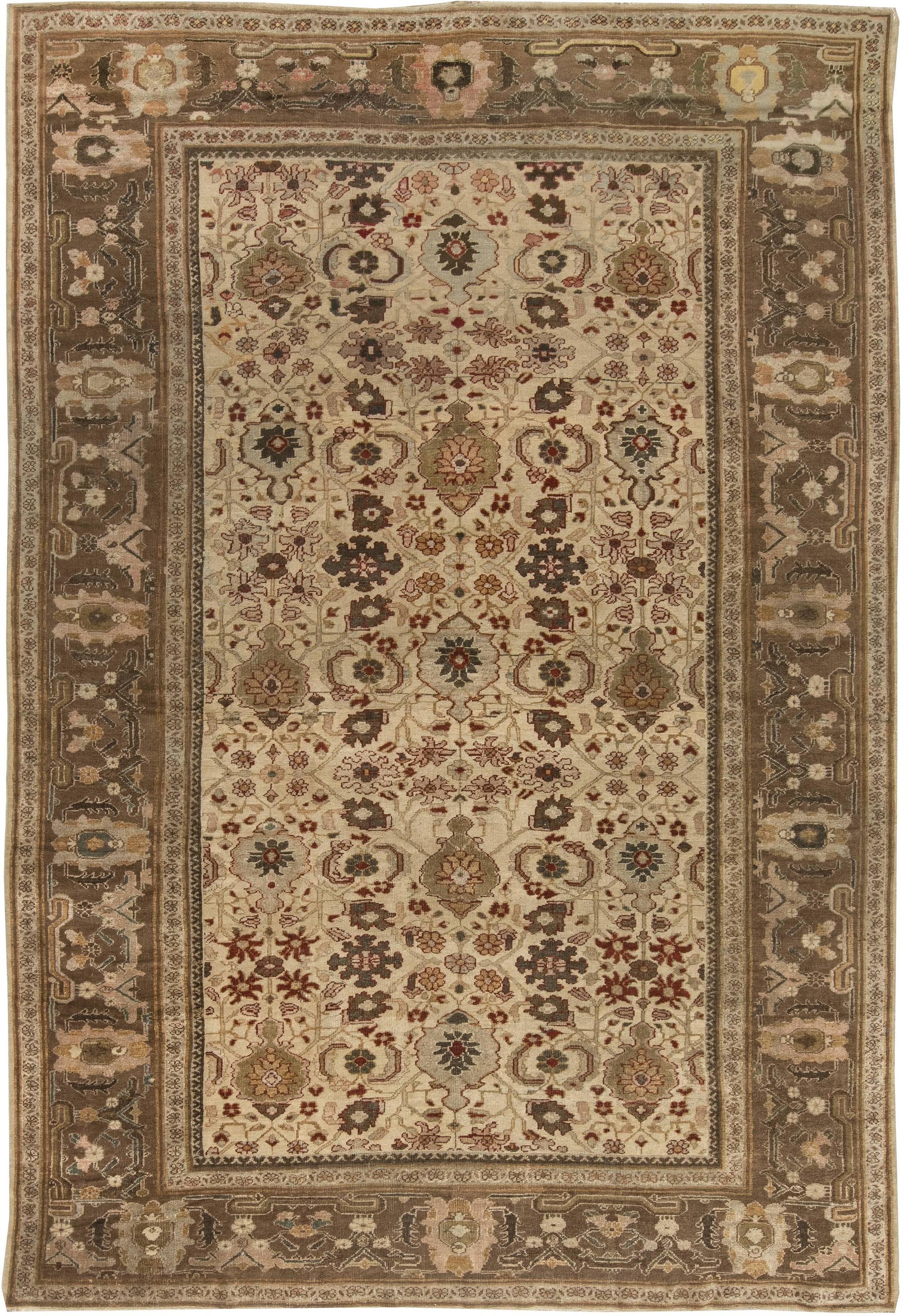 Antique Persian Sultanabad Rug Bb6453 By Doris Leslie Blau