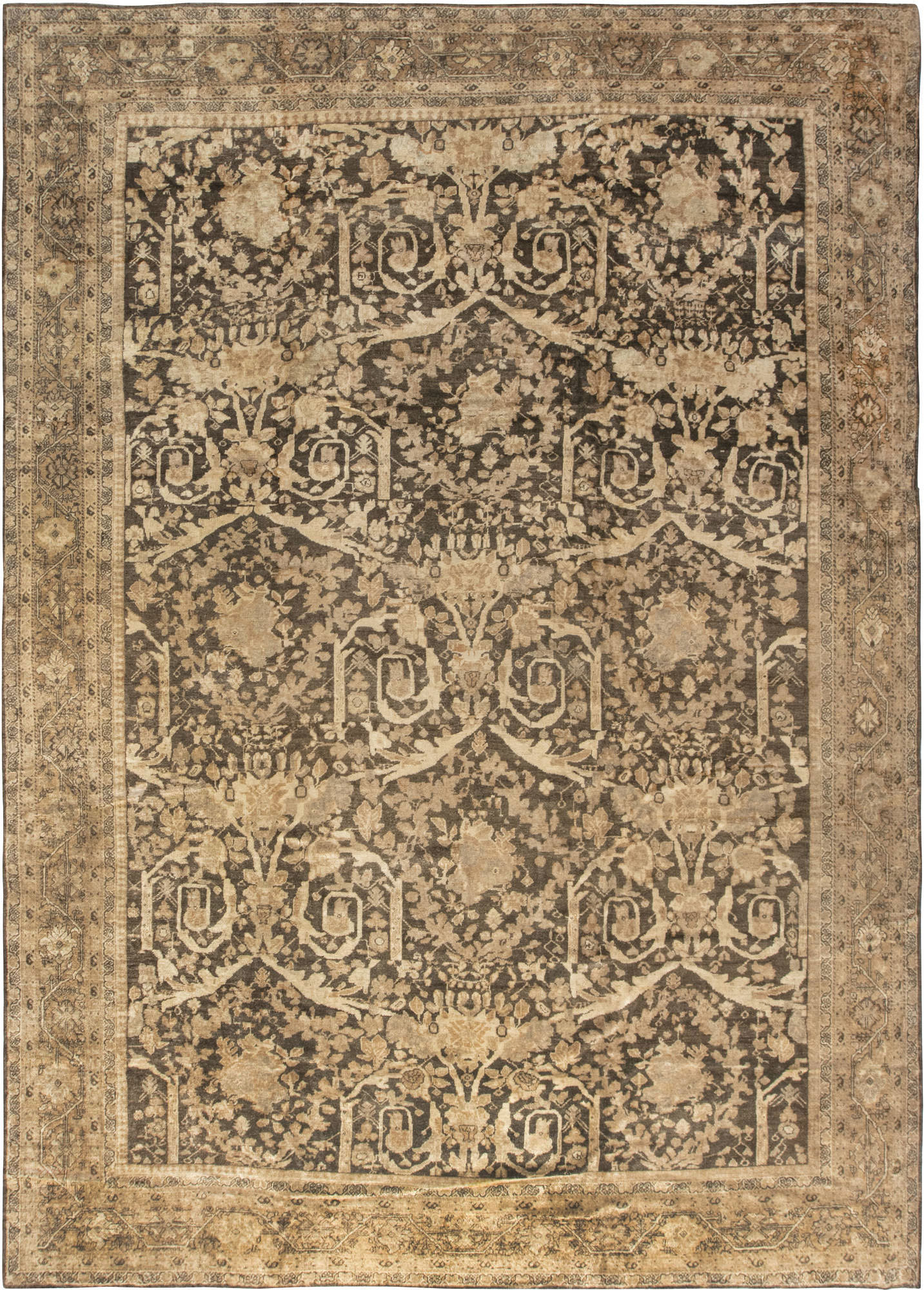 Antique Persian Sultanabad Carpet Bb6606