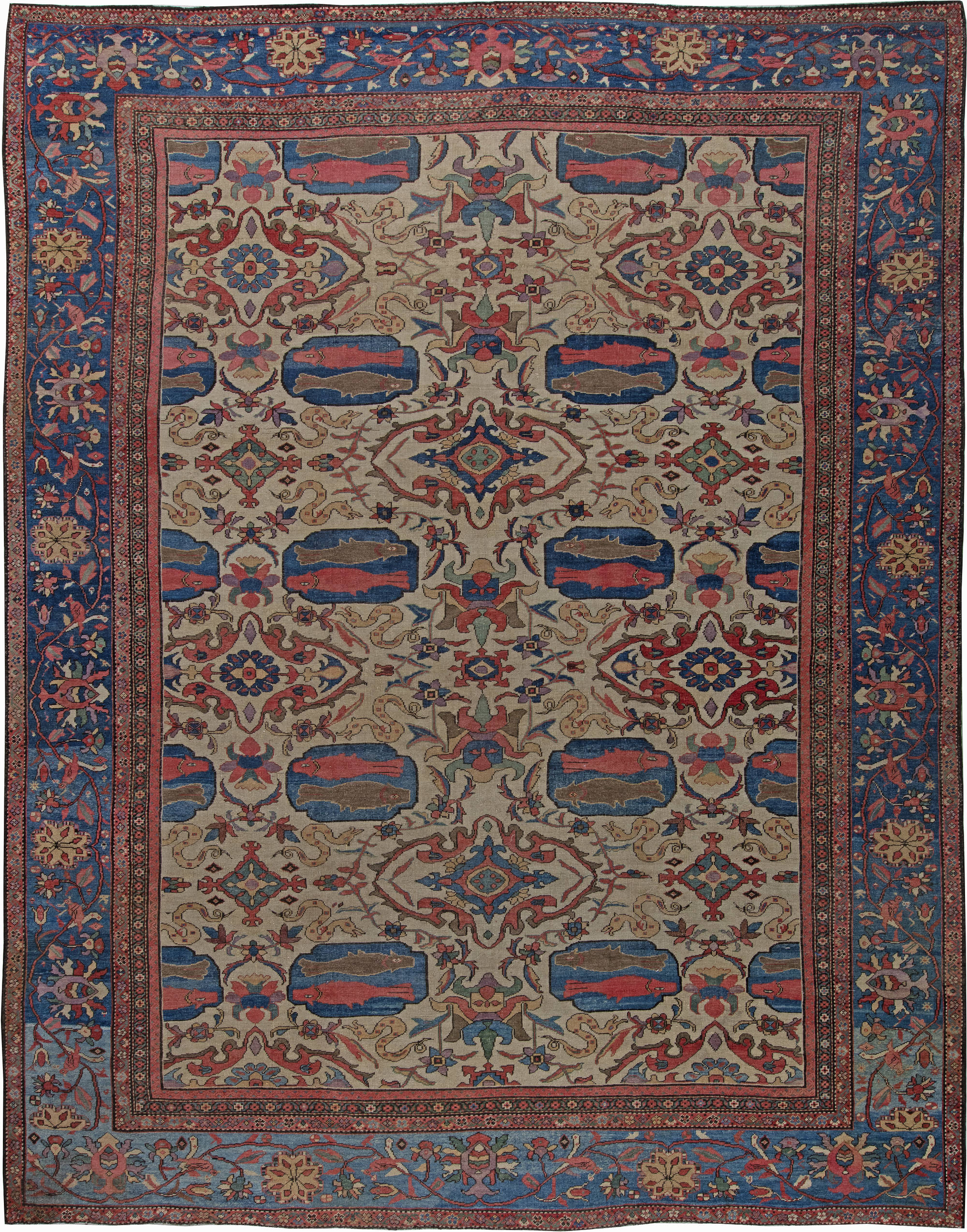 Antique Persian Sultanabad Rug BB6224