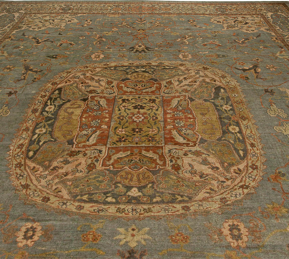 Oversized Vintage Persian Sultanabad Rug BB5918 By Doris