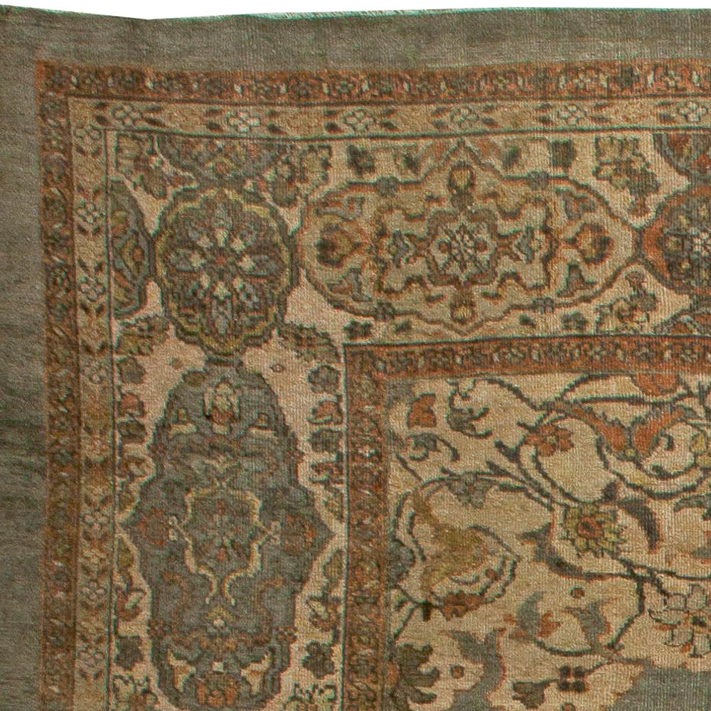 Oversized Vintage Persian Sultanabad Rug BB5918