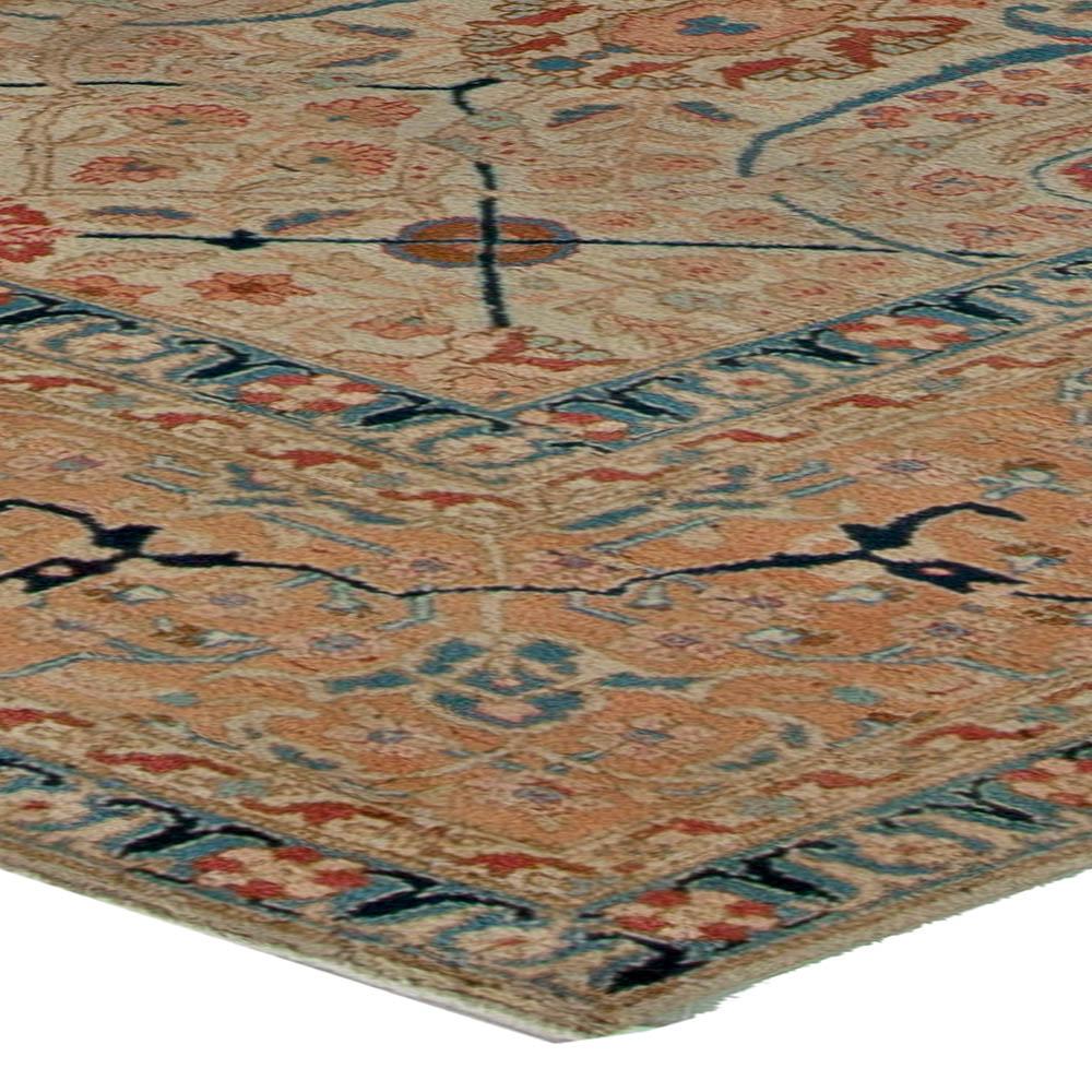 Antique Persian Tabriz Carpet BB5573