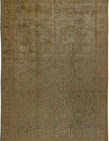 Antique persa Tabriz Tapete BB5750