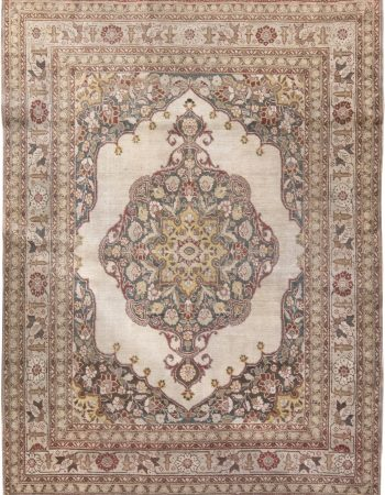 Antique Persian Tabriz BB6177