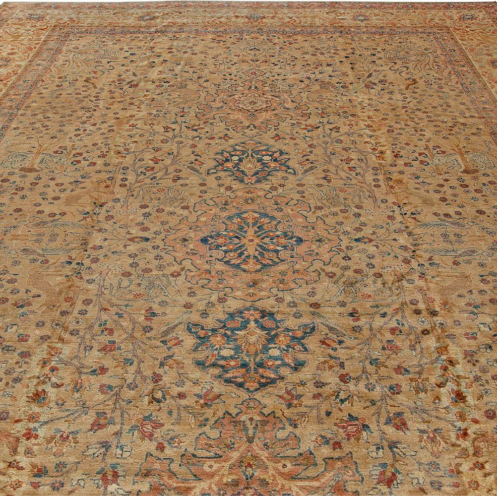 Antique Persian Tabriz Rug BB5538