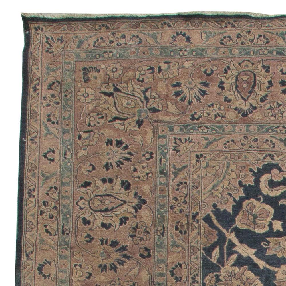 Antique Persian Tabriz Carpet BB5529