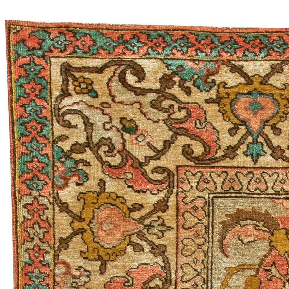 Antique Persian Tabriz Rug BB6040