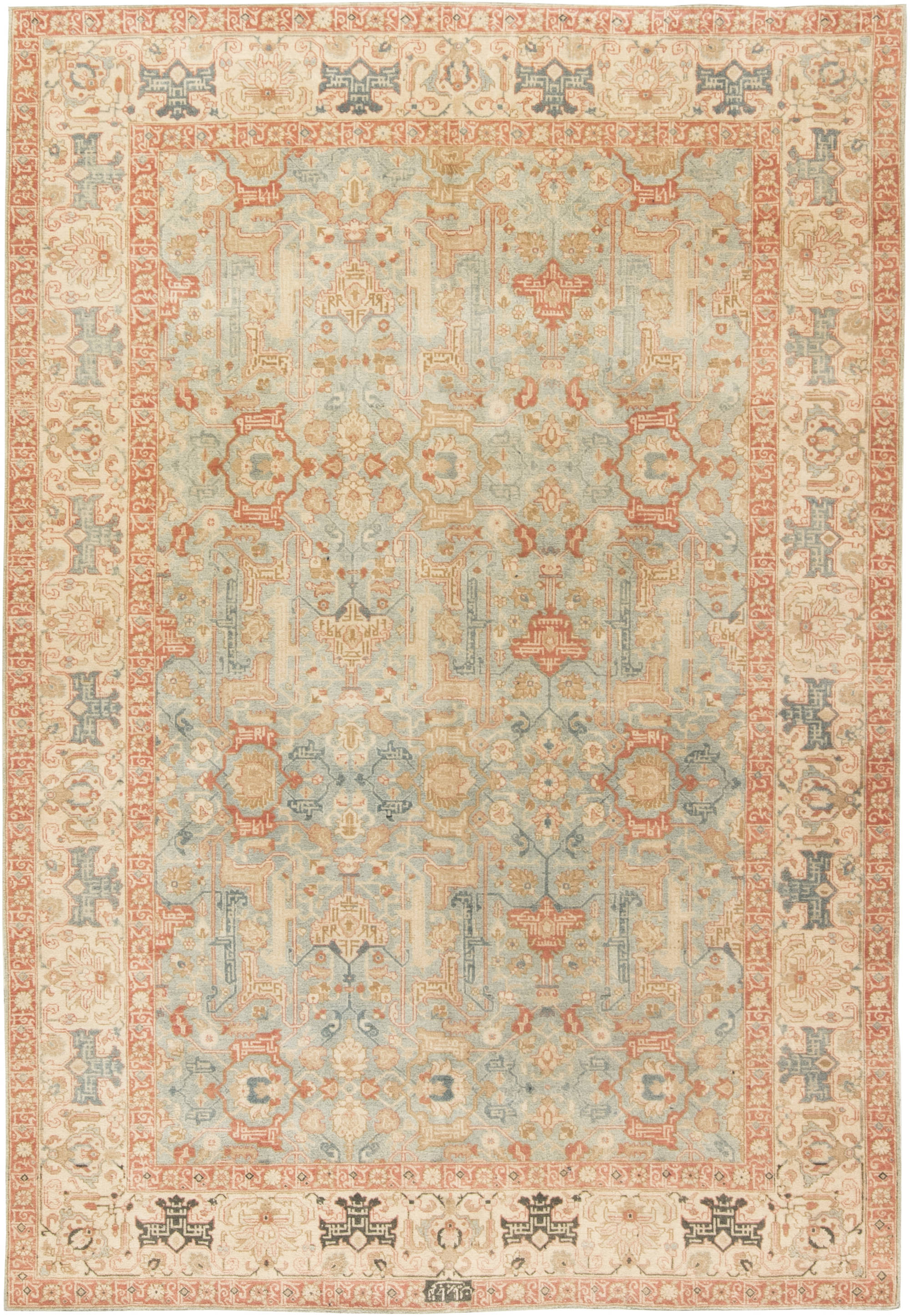 Antique Persian Tabriz Carpet Bb6482 By Doris Leslie Blau
