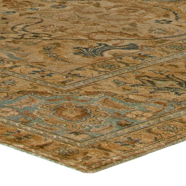 Antique Persian Tabriz Carpet BB5913