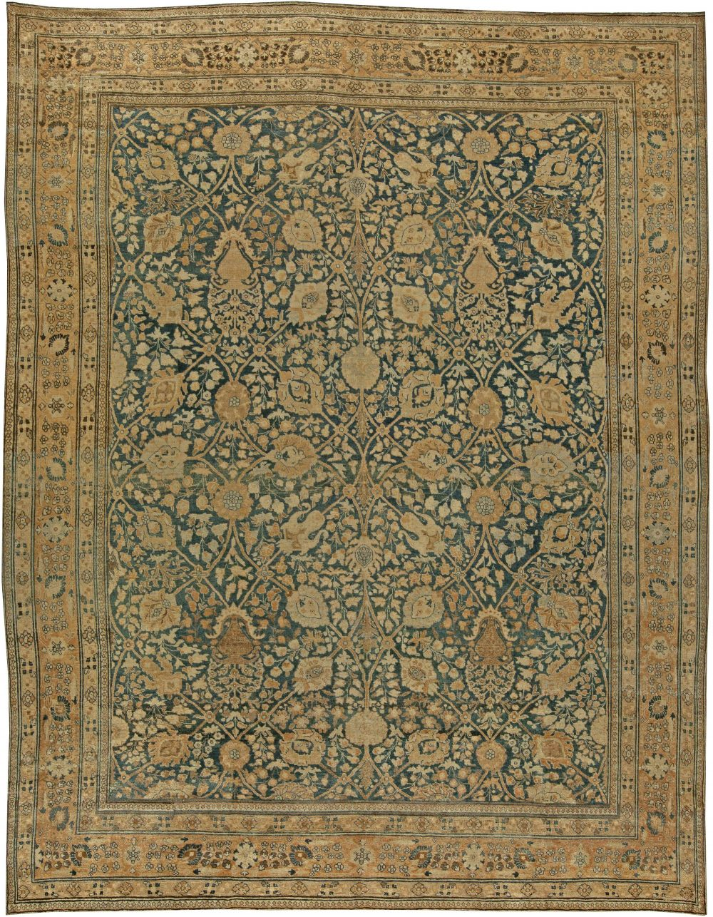 Antique Persian Tabriz Rug BB6031
