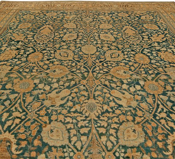 Antique Persian Tabriz Rug BB6031