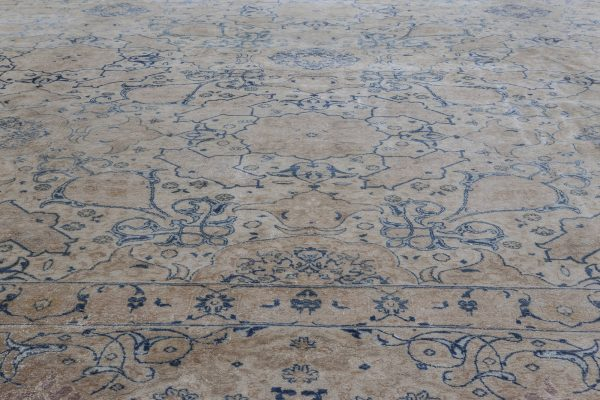 Persian Tabriz Vintage Carpet BB5889