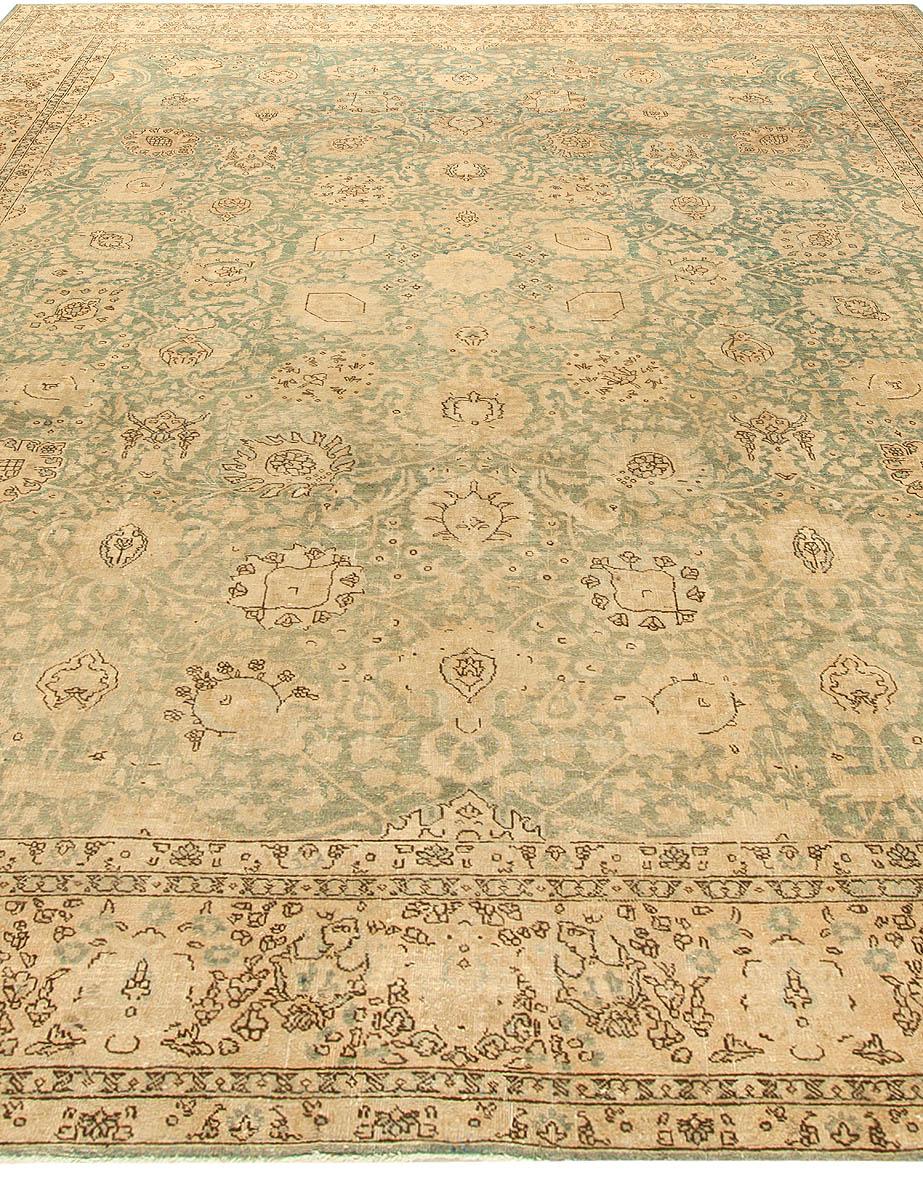 Antique Persian Tabriz Rug BB6140