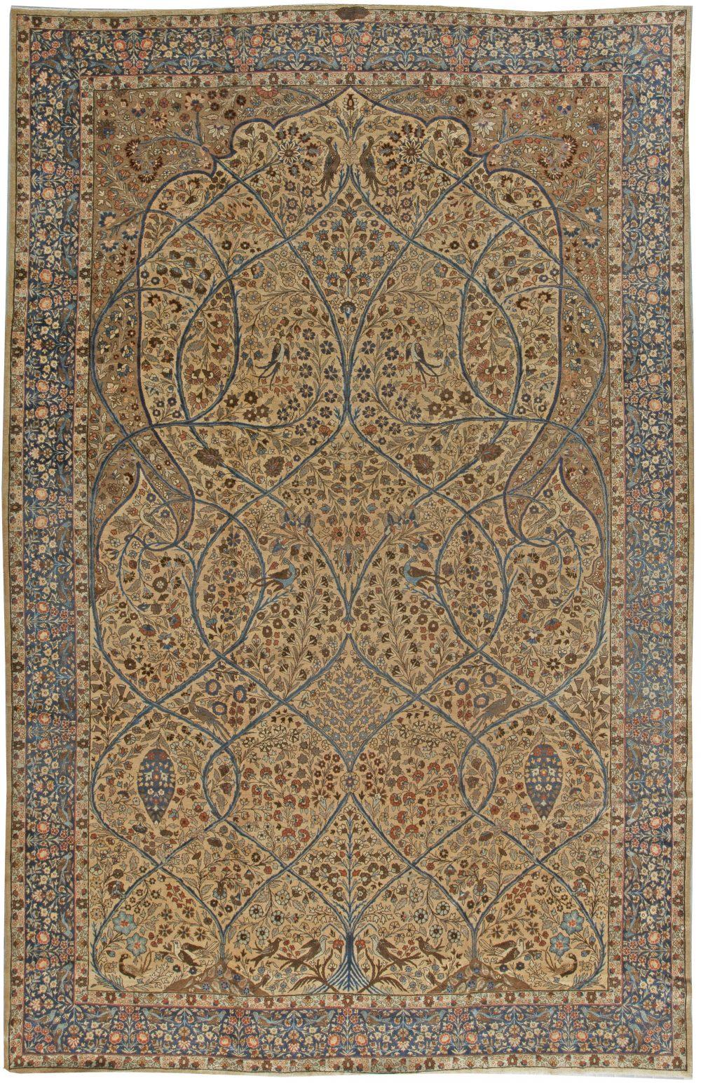 Antique Persian Tabriz Carpet BB5552