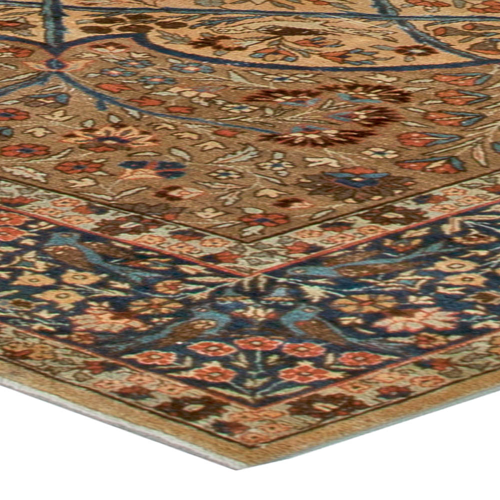 Antique Persian Tabriz Carpet BB5552