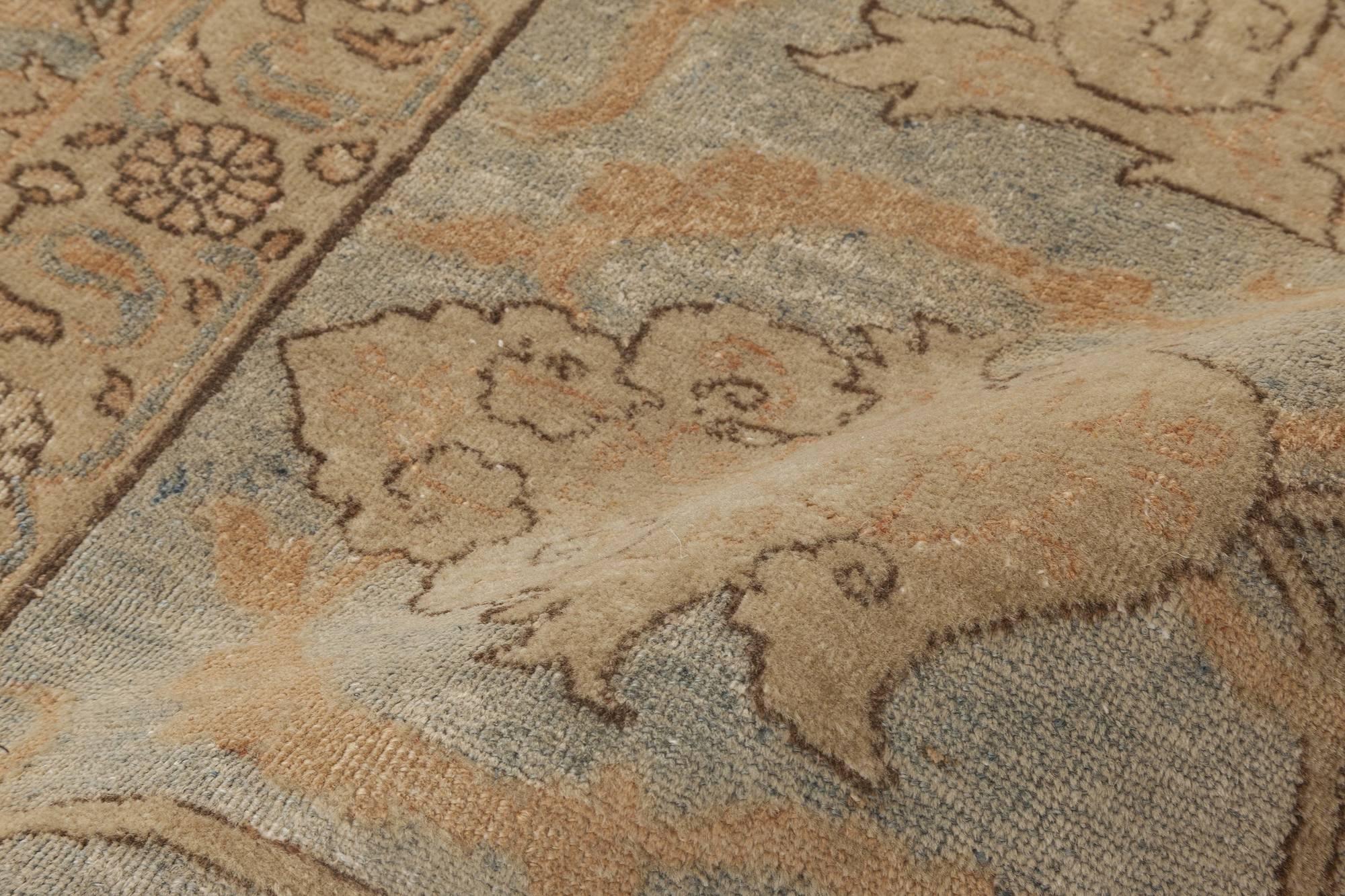 antike persische tabriz teppich bb6457 von doris leslie blau. Black Bedroom Furniture Sets. Home Design Ideas