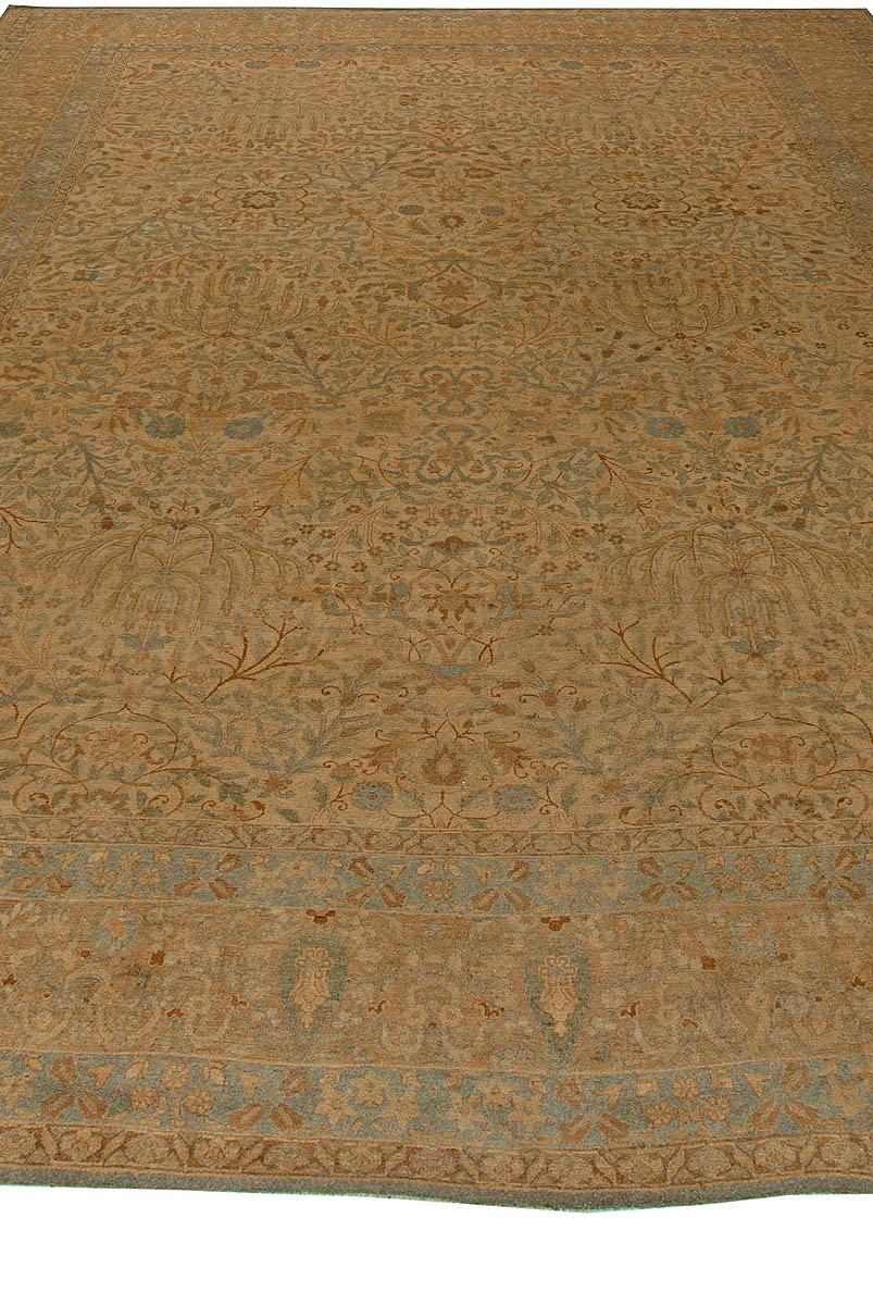 Antique Persian Tabriz Carpet BB5868