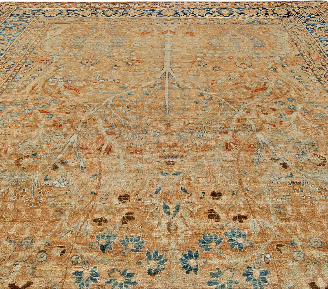An Antique Persian Tabriz Rug BB5504