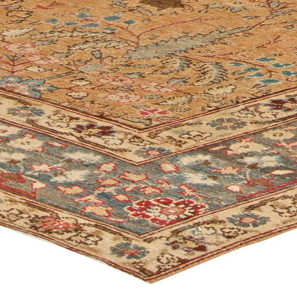 Antique Persian Tabriz Rug BB5528