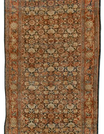 Antique Persian Tabriz Runner BB5423