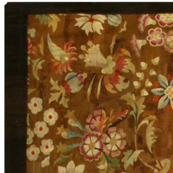 Antique French Aubusson ( size adjusted) BB5261