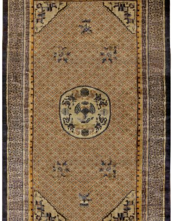 Vintage Chinese Silk Rug BB5240