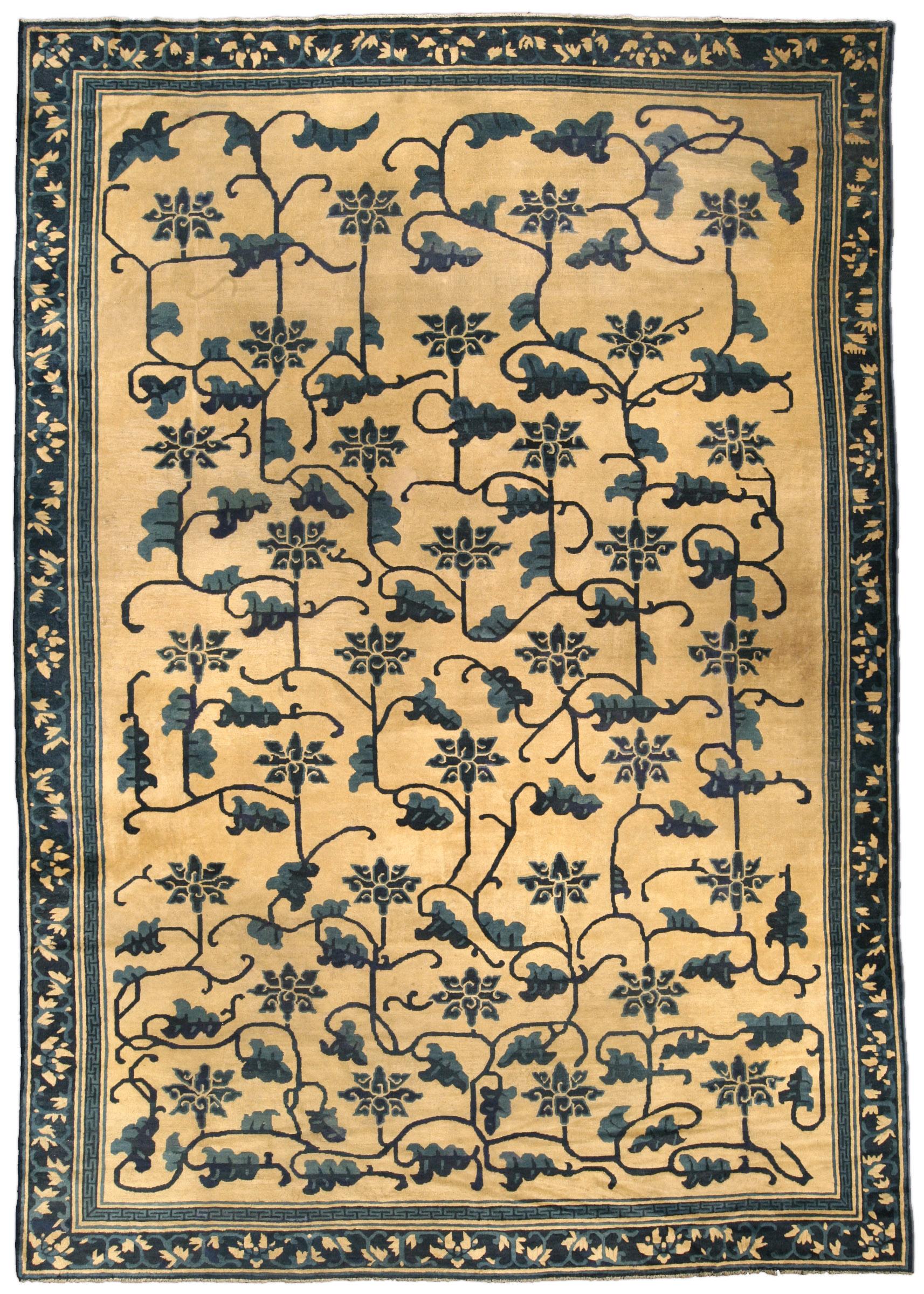 Vintage Chinese Carpet BB4245