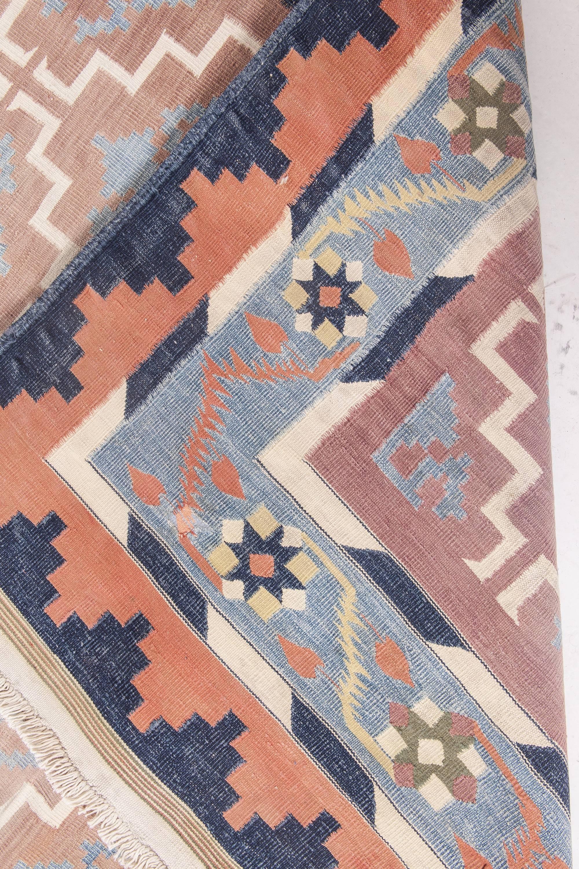 Vintage Indian Dhurrie Rug BB4824 by DLB