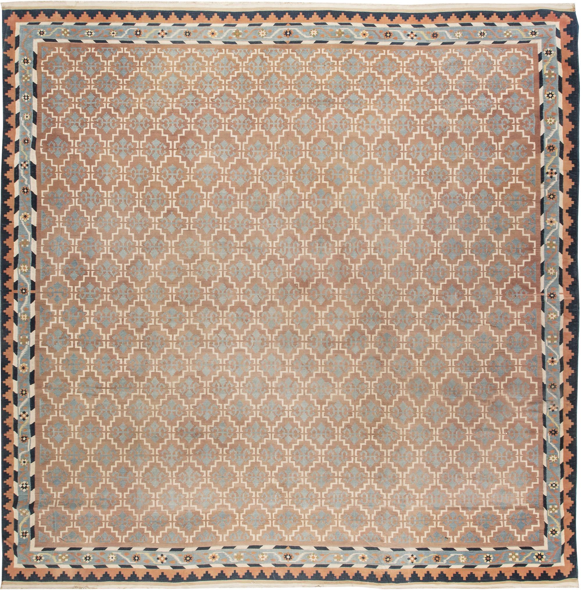 Vintage Indian Dhurrie Rug BB4824