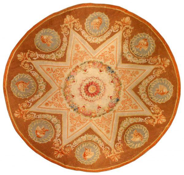 Antique French Aubusson Carpet BB0561