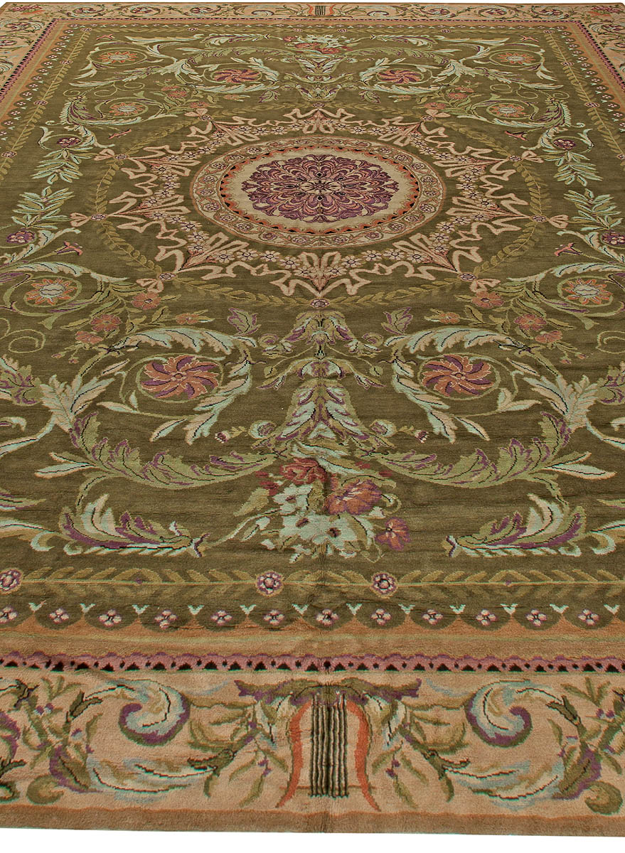 Oversized Antique Savonnerie Carpets BB1329