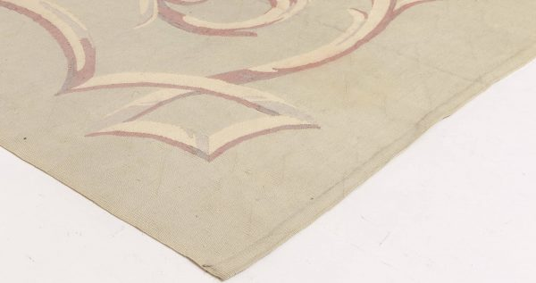 Antique French Aubusson Rug BB2797