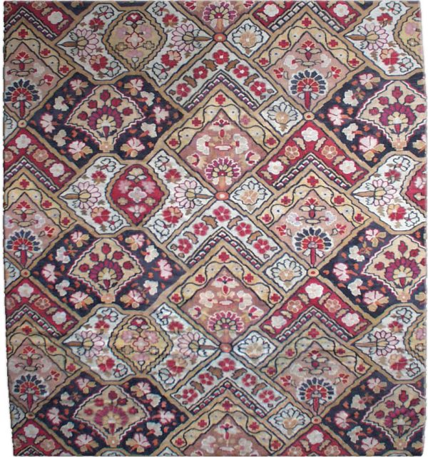 Antike Aubusson Teppich BB1912