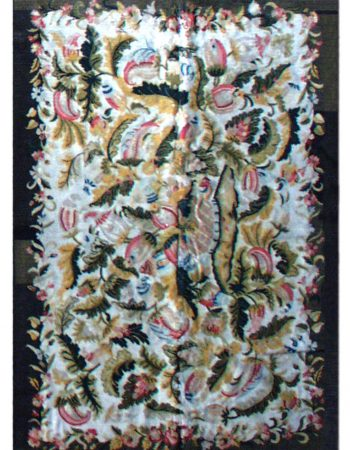 Antique French Needlework Rug BB2122