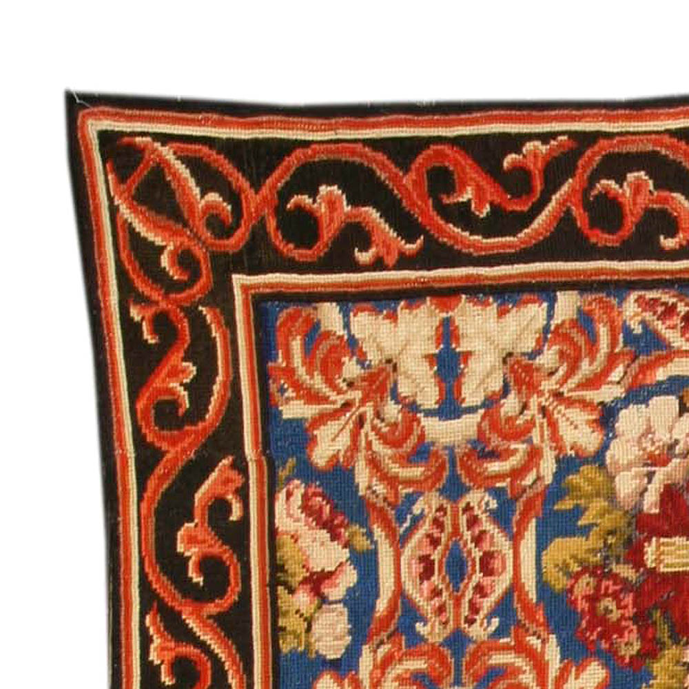 Antique Needlework Carpet Bb4133 By Doris Leslie Blau