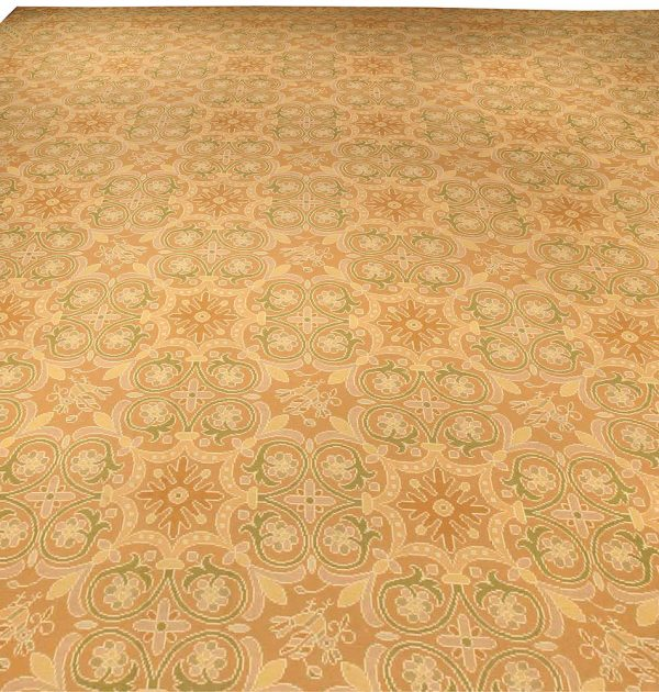 Extra Large Antique Portuguese Needlework Carpet BB3916