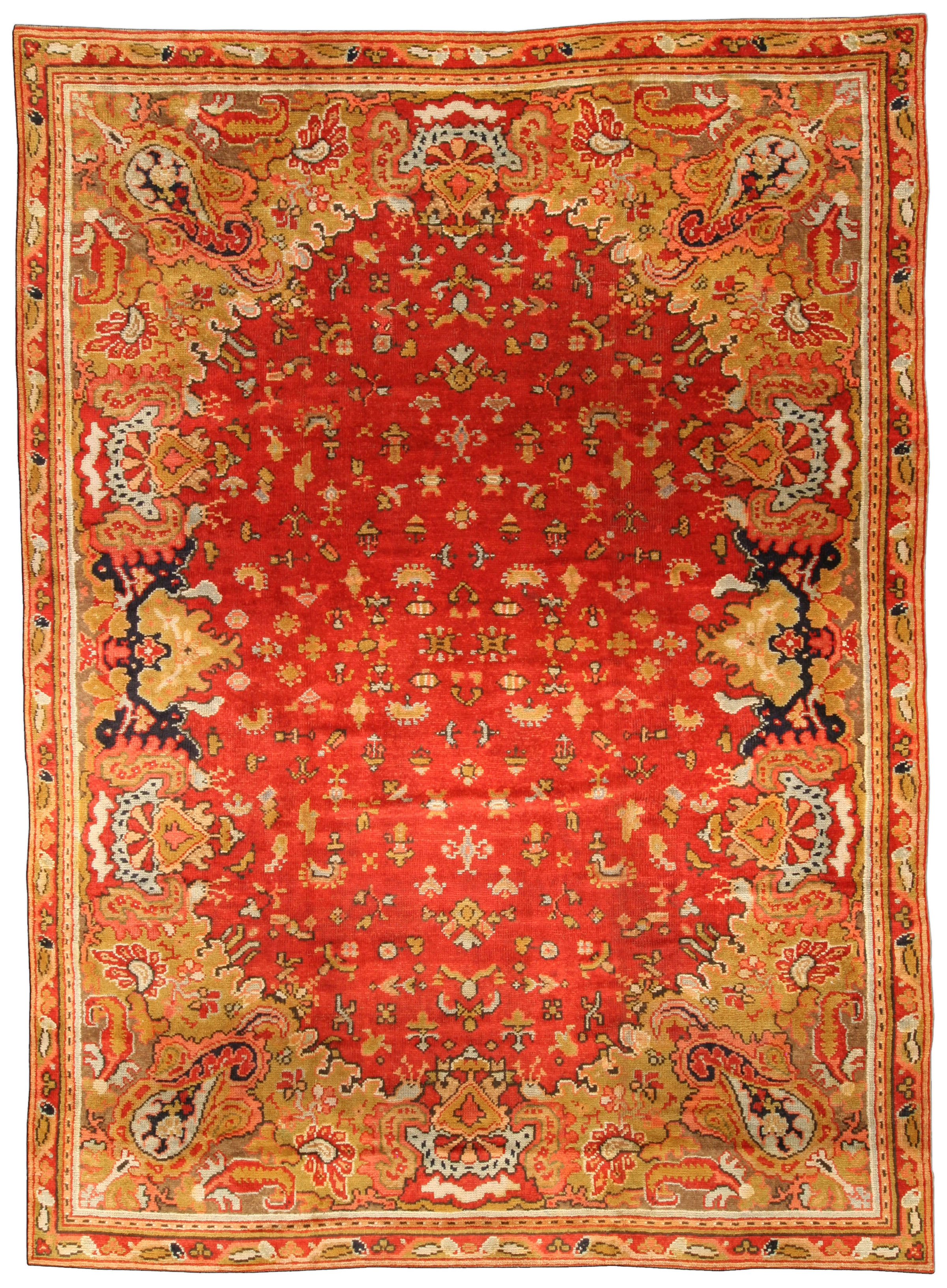 Antique English Axminster Carpet BB0749