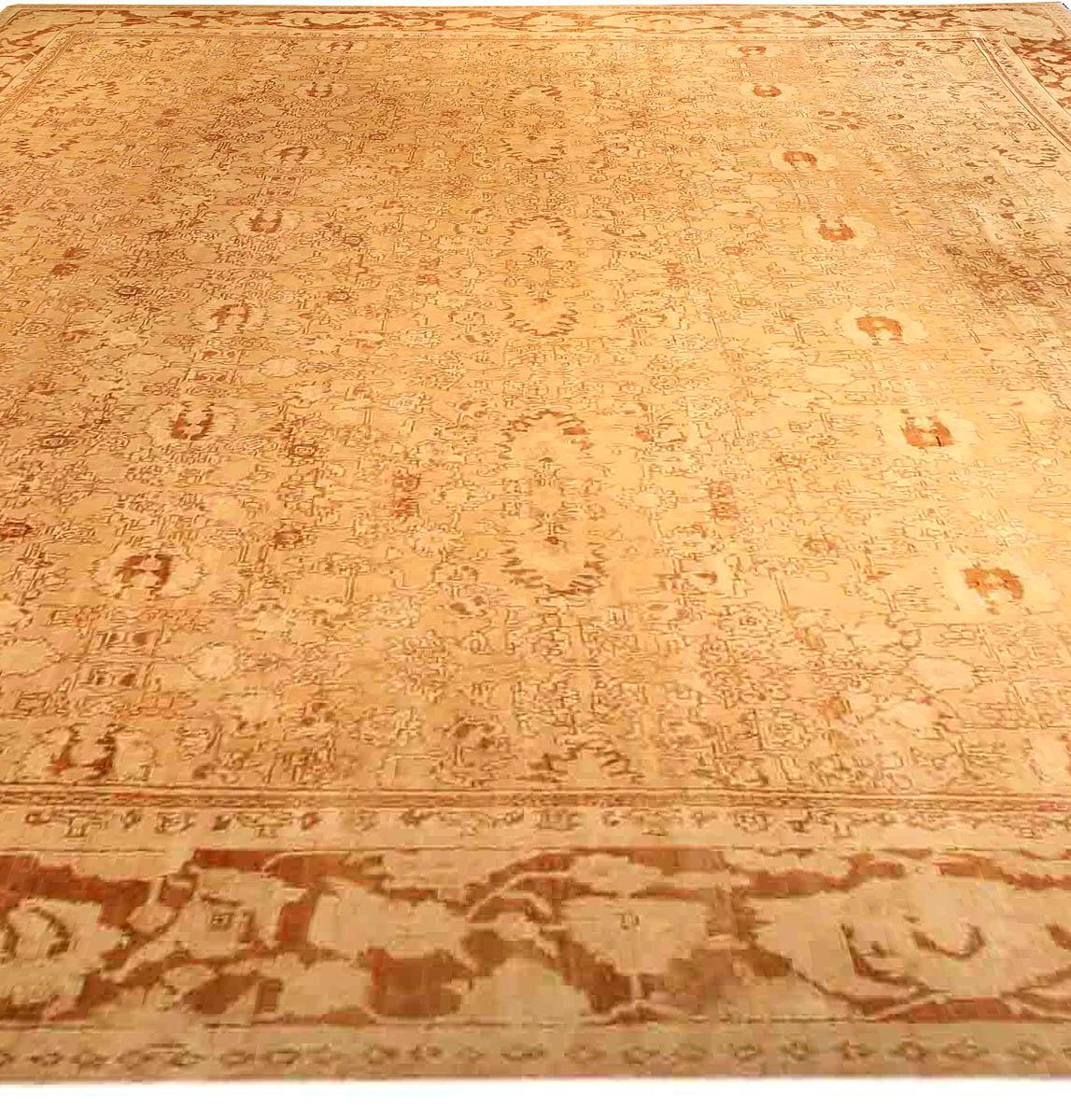 Antique Indian Agra Rug BB2546