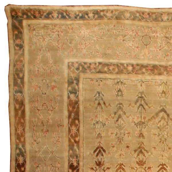 Antique Indian Agra Carpet BB3012