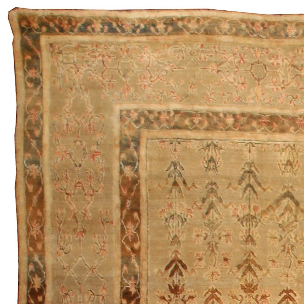 Antique Indian Agra Carpet BB3012 By Doris Leslie Blau