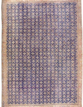 Oversized Vintage Indian Agra Carpet BB3278