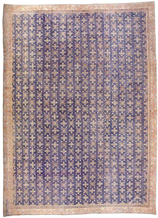 Oversized Vintage Indian Agra Carpet BB3278